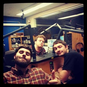 Hosts: Ben (back), Simon (right), & Ky (front).