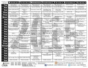 Schedule-2015-01 2-fold